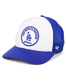 '47 Brand Los Angeles Dodgers Swell Trucker MVP Cap