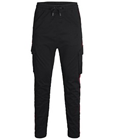 Jack & Jones Men's Taped Cargo Pants