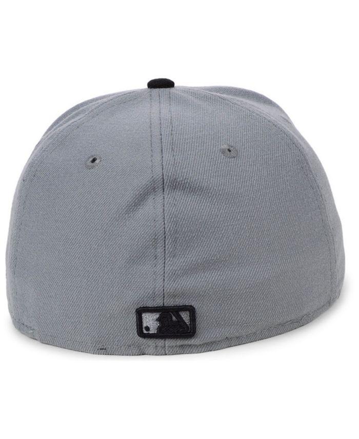 New Era Los Angeles Dodgers Basic Gray Black 59FIFTY Fitted Cap & Reviews - Sports Fan Shop By Lids - Men - Macy's