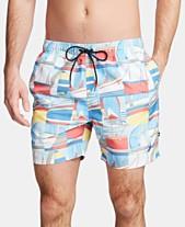 33262b5e78 Nautica Men's Big & Tall Printed Swim Trunks
