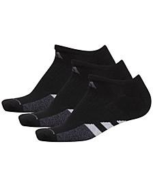 3-Pk. Cushioned No-Show Women's Socks