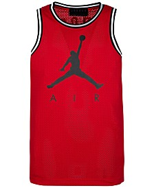 Jordan Big Boys Jumpman-Print Mesh Tank Top