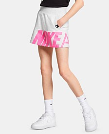 Nike Little Girls Logo-Graphic Scooter Skirt