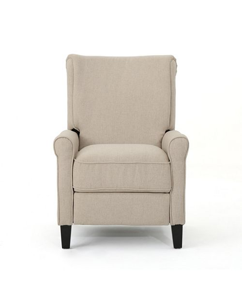 Noble House Charell Recliner, Quick Ship