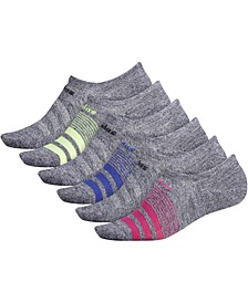 6-Pk. Superlite No-Show Women's Socks