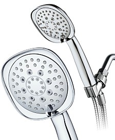 6-setting High-Pressure Hand Shower