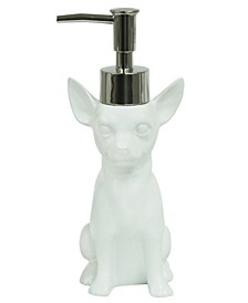Dog Chihuahua Lotion Dispenser