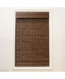 Cordless Bamboo Dockside Privacy Weave Roman Shade