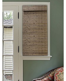 Radiance Cordless Bamboo Dockside Privacy Weave Roman Shade