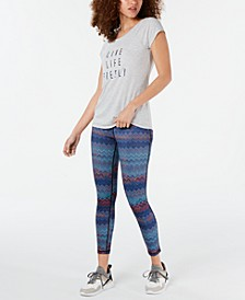Graphic Cross-Back T-Shirt, Created for Macy's