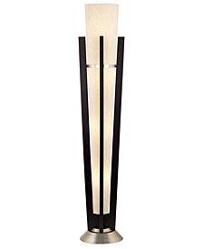 Kathy Ireland Tall Uplight Wood & Metal