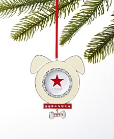 Holiday Lane Pets 2019 Photo Frame Ornament, Created for Macy's