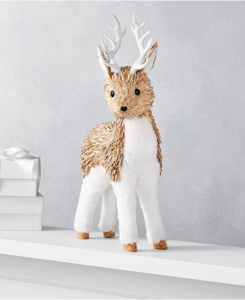 Holiday Lane The Holiday Collection Reindeer Table Décor, Created for Macy's