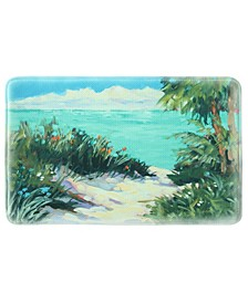 "Warm Paradise 22""x35"" Memory Foam Rectangle Rug"