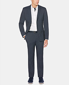 Perry Ellis Men's Slim-Fit Striped Jacket & Pants
