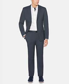 Perry Ellis Men's Slim-Fit Striped Jacket & Pants