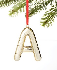 Holiday Lane Initials A Ornament, Created for Macy's