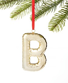 Holiday Lane Initials B Ornament, Created for Macy's