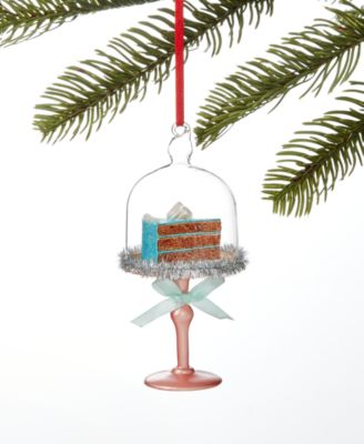 Sweet Tooth Cake in Dome Ornament, Created for Macy's