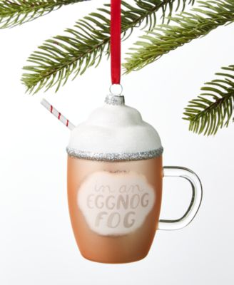 Sweet Tooth Eggnog Ornament, Created for Macy's