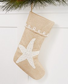 Starfish Stocking, Created for Macy's