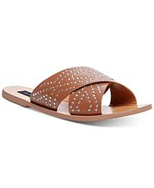 Women's Girlish Studded Sandals
