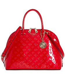 GUESS Peony Shine Dome Satchel
