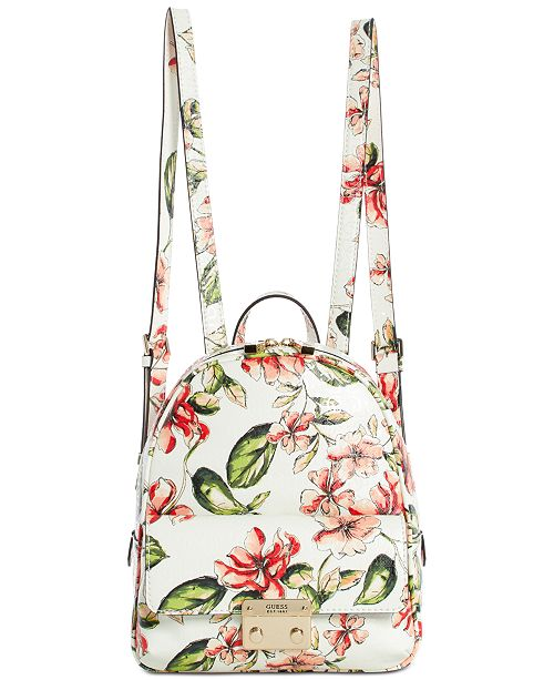 GUESS Tiggy Bowery Floral Backpack