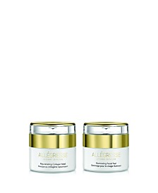 Allegresse 24K Skincare Rejuvenate and Illuminate 2 Piece Set