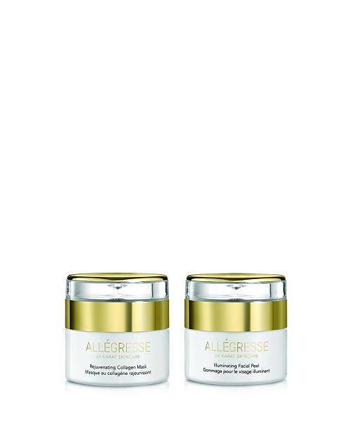 Allegresse 24 Karat Skin Care Allegresse 24K Skincare Rejuvenate and Illuminate 2 Piece Set
