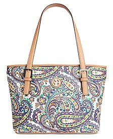 Saffiano Paisley Tote, Created for Macy's