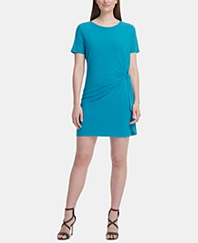 Knot T-Shirt Dress