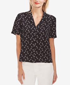 Vince Camuto Printed Button-Down Shirt