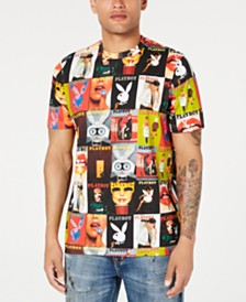 Sean John Men's Playboy Collection Graphic T-Shirt