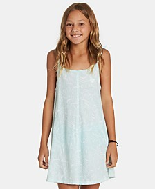 Billabong Big Girls Floral-Print Tank Dress