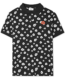 WeSC Men's Antarctic Poppies Regular-Fit Floral-Print Polo