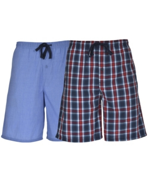 Hanes Men's Big and Tall Woven Jam, 2 Pack
