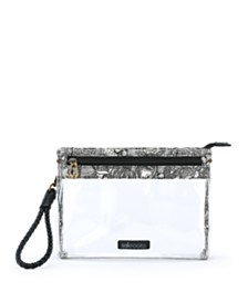 Sakroots Clear Festival Campus Mini Crossbody
