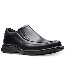 Men's Kempton Free Black Leather Dress Casual Loafers