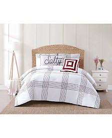 Oceanfront Resort Nautical Charm 3-Pc. Full/Queen Comforter Set
