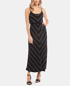 Karen Kane Sleeveless Printed Maxi Dress
