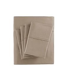 800 Thread Count 7-PC Split King Cotton Blend Sateen Sheet Set