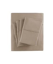 Madison Park 800 Thread Count 7-PC Split King Cotton Blend Sateen Sheet Set