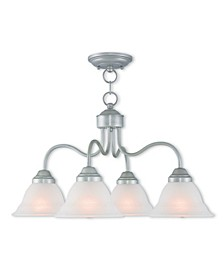 CLOSEOUT!   Wynnewood 4-Light Convertible Dinette Chandelier/Ceiling Mount