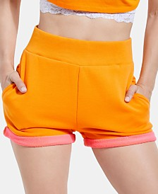 GUESS Cotton Colorblocked Shorts