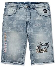 Born Fly Men's Sahara Denim Shorts