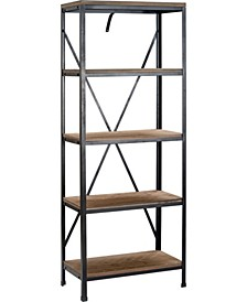 CLOSEOUT! Farmhouse Bookshelf, Quick Ship