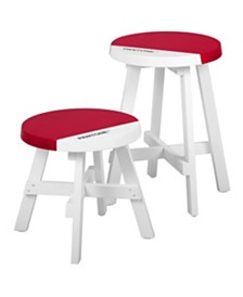 Pantone 2pc Stool Set, Quick Ship