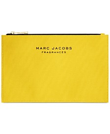 Receive a Complimentary Marc Jacobs Pouch with any Large Spray purchase from the Marc Jacobs Daisy Women's Fragrance Collection