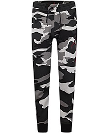 Little Boys Camo-Print Jogger Pants